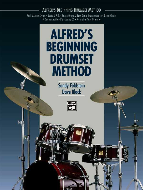 Alfred's Beginning Drumset Method By Black, Dave/ Feldstein, Sandy